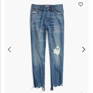 Madewell Perfect Summer Jean Destructed HighRise